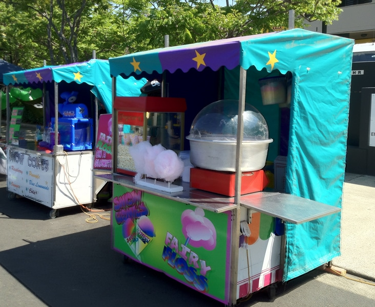 Brisbane Fairy Floss vendors