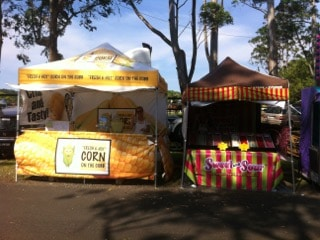 Hot corn on the cob vendor Brisbane catering brisbane