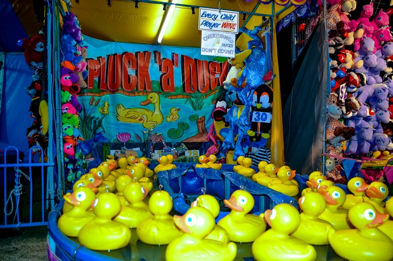 Pick a Duck Game Gold Coast Sideshows