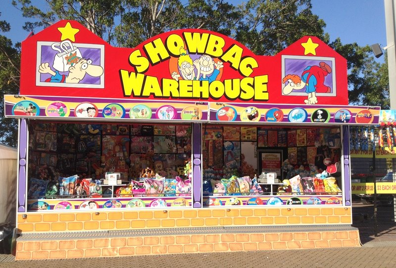 showbag warehouse Sideshows