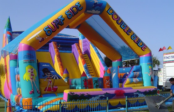 Jumping Castle surf themed