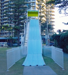 Wave Rider Giant Slide Brisbane area Giant Fibreglass Slide